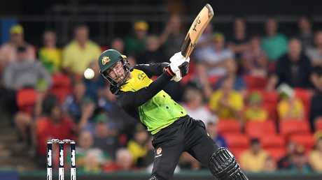 Glenn Maxwell was the only Australia batsman to pass 15.