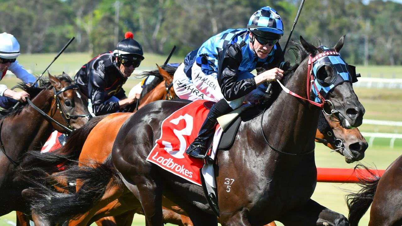 Jockey John Allen reckons Ringerdingding has Group 1 potential. Picture: Getty Images