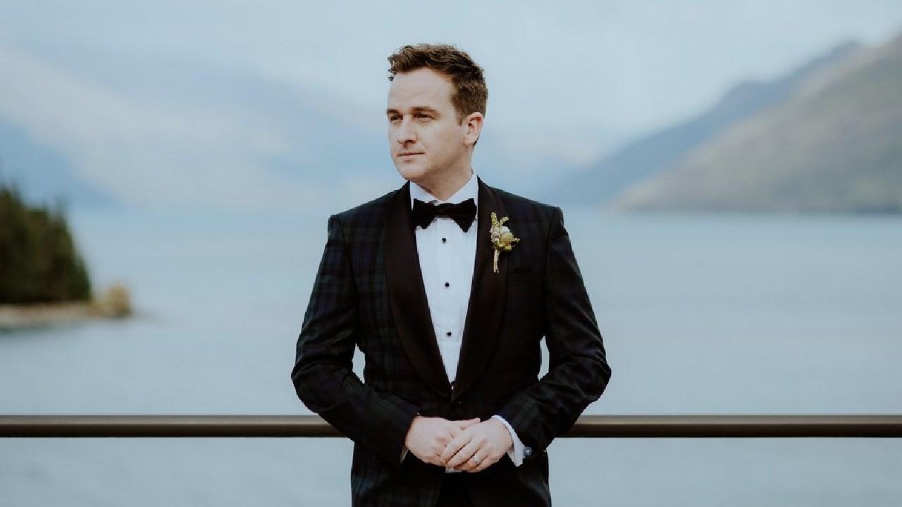 Shannon Molloy's wedding day in Queenstown, New Zealand.