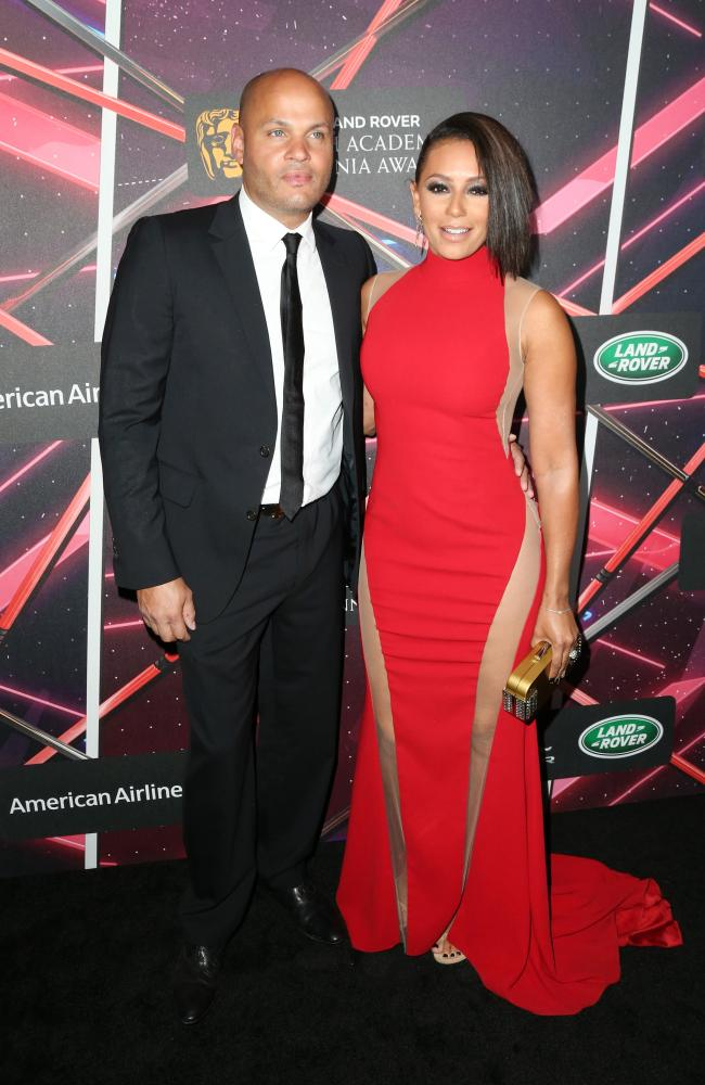 Stephen Belafonte and Mel B were together for 10 years. Picture: Frederick M. Brown