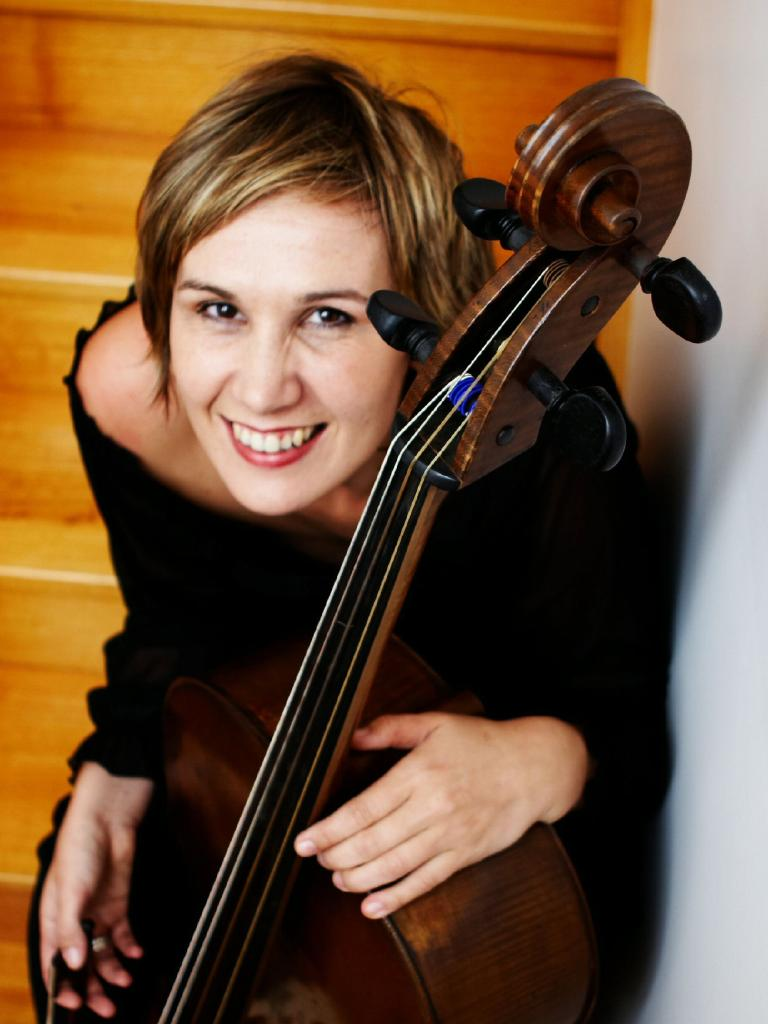 Cellist Louise King.