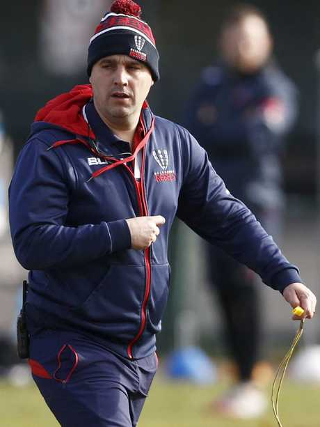 Melbourne Rebels coach Dave Wessels.