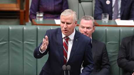Deputy PM Michael McCormack. Picture: Kym Smith