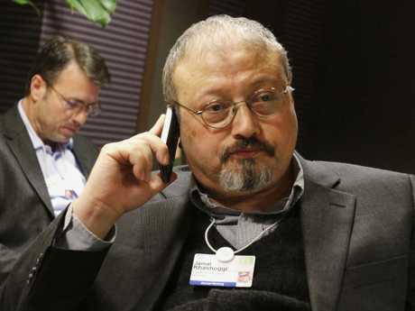Journalist Jamal Khashoggi was killed inside Saudi Arabia's Istanbul embassy. Picture: AP