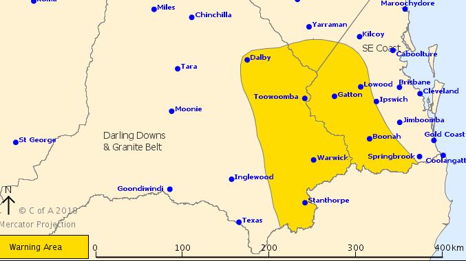 Storm Warning for Lockyer, Somerset