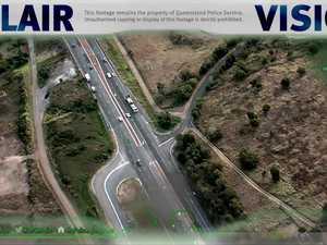 PolAir tracks car thief driving across farms