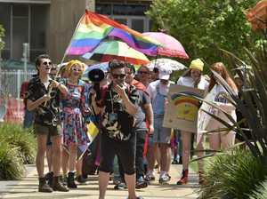 Rainbow walk Toowoomba