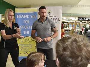 Darius Boyd meets fans