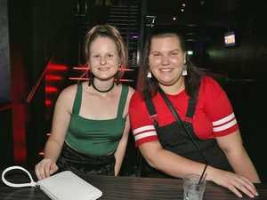 L-R Tayla Ruddy and Zoe Farlow at Zodiac