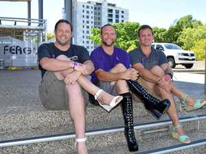 Blokes don heels to support family violence victims