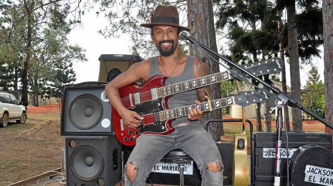 One-man band living his dream on the road