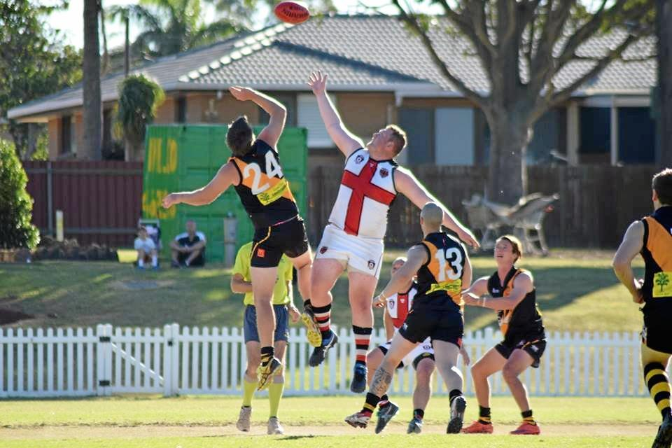 BACK INTO IT: The South Burnett Saints will start training next week.