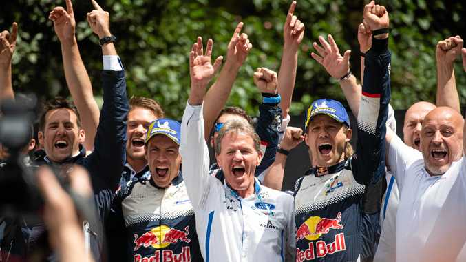 Latvala wins Rally Australia, Ogier the WRC title