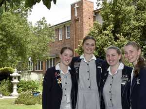 'Sad to go': St Ursula's graduates' talk of future plans
