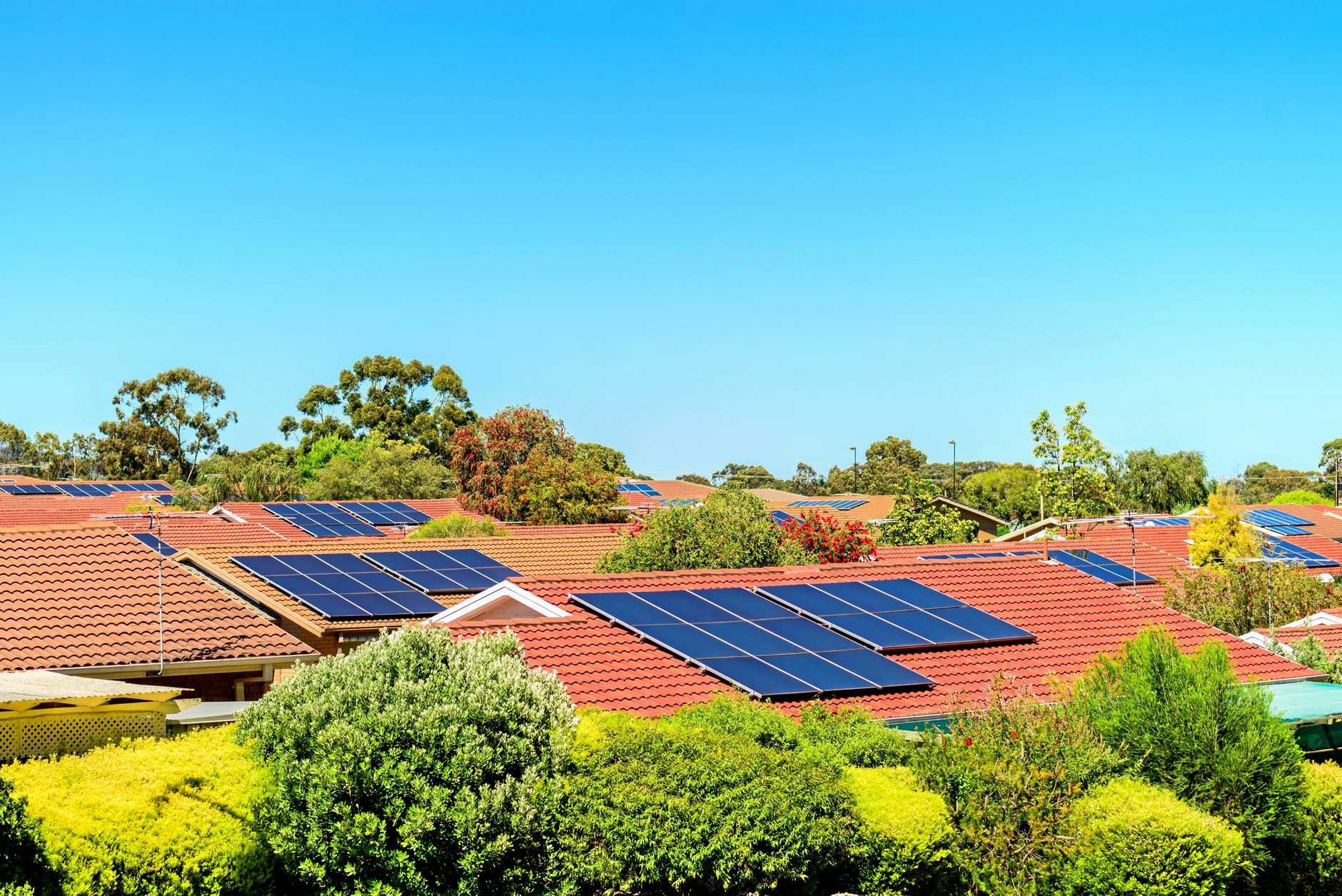 RENEWABLE ENERGY: Gladstone residents and businesses can apply for grants to install batteries for solar power.