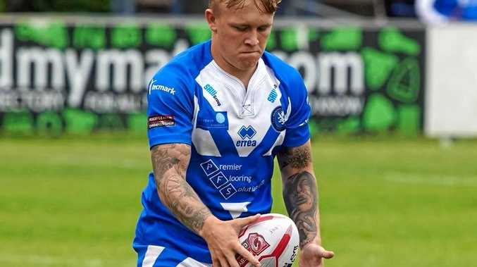 ACE: Brad Billsborough will leave the Swinton Lions to link up with the Grafton Ghosts next season.