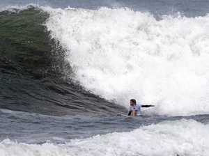 Teenager battles hard at Hawaiian Pro