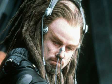 Critics were scathing about Travolta's expensive project Battlefield Earth.