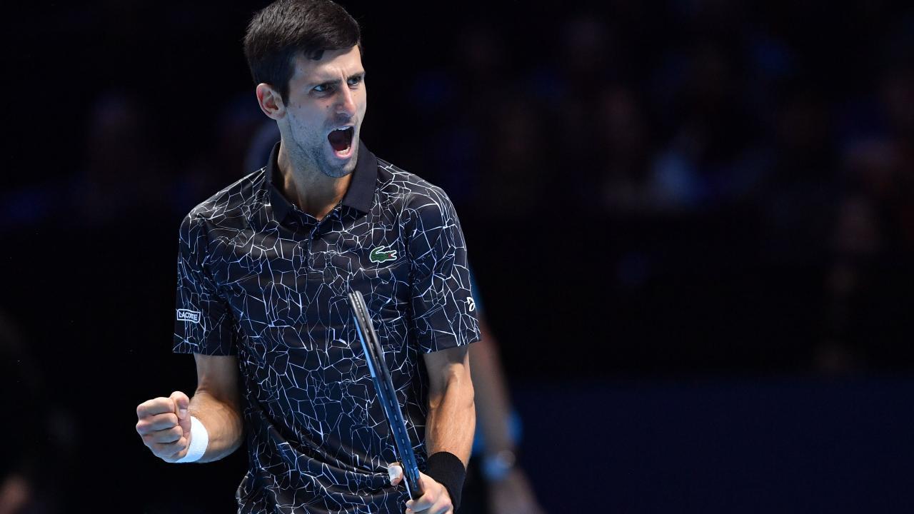 Novak Djokovic is a man possessed.
