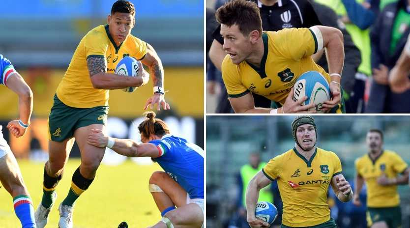 The good, the bad and the ugly from the Wallabies win over Italy.