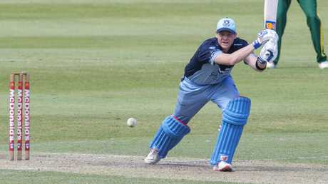 Steve Smith could be back playing Sheffield Shield cricket soon. Picture: Jenny Evans