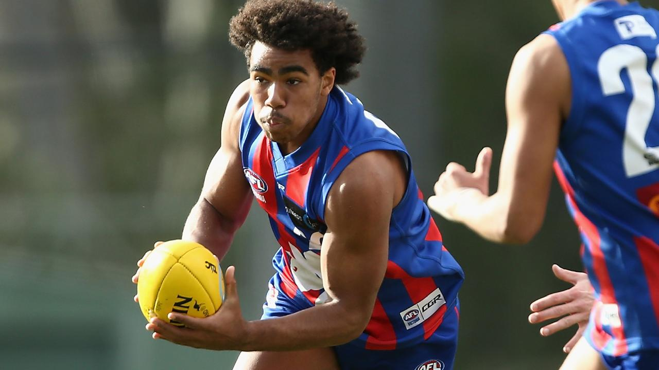 Collingwood is expected to match a bid on next generation academy gun Isaac Quaynor. Picture: Getty