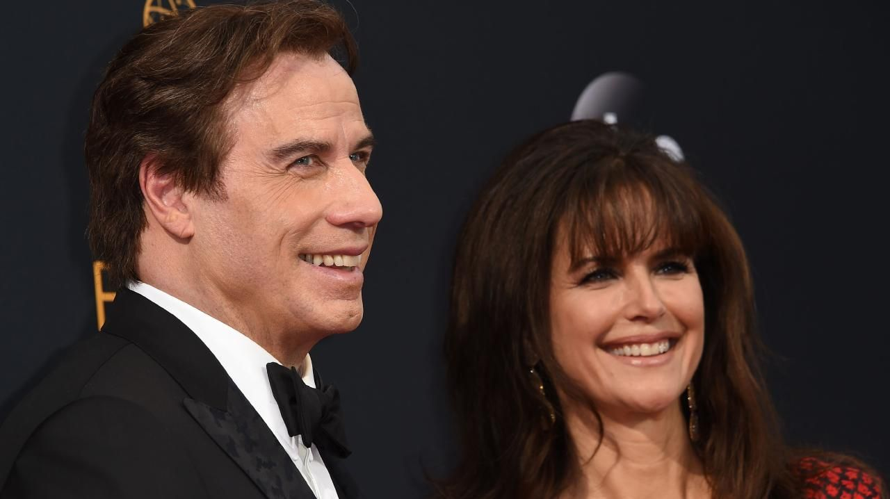 John Travolta has suffered a litany of abuse allegations and attacks on the validity of his marriage. Picture: Robyn Beck