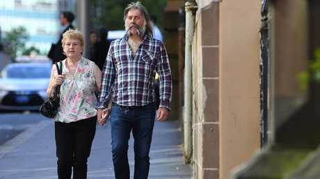 The parents of Cathrina Cahill, Rita and Daniel Cahill, arrive for her sentence hearing at the Supreme Court in Sydney on Tuesday. Picture: AAP /Dean Lewins