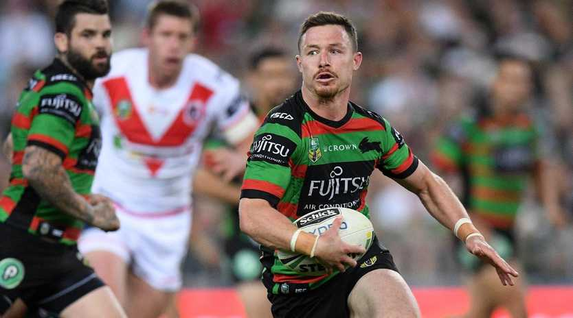 Damien Cook of the Rabbitohs.