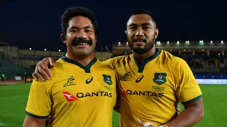 Tatafu Polota-Nau and Sekope Kepu came off the bench to secure the victory. Picture: Getty
