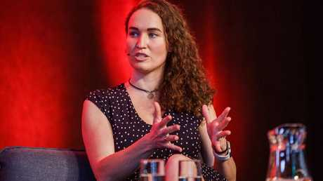 Megan Phelps-Roper at the Festival of Dangerous Ideas. Source: FODI.