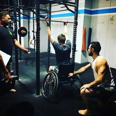 Josh is the only Australian adaptive athlete to qualify