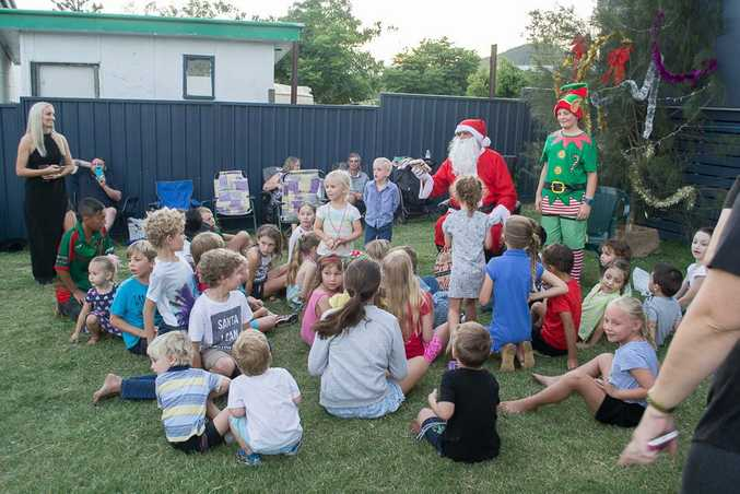 The Sarina Range Community Christmas event held in December last year.
