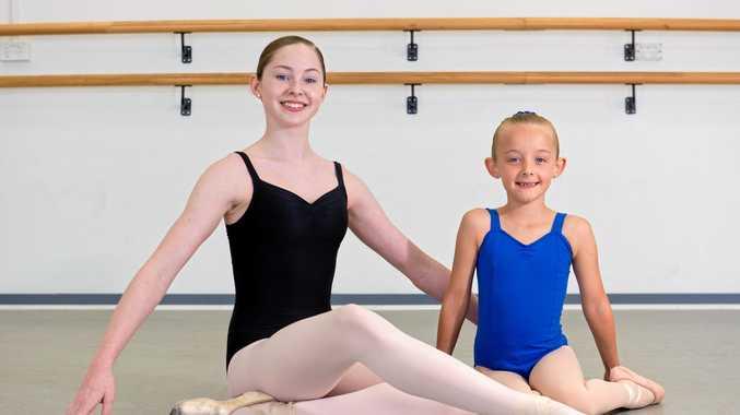 Mackay ballerinas dancing with world's elite
