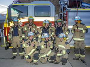 Firemen go hairy for Movember fundraiser