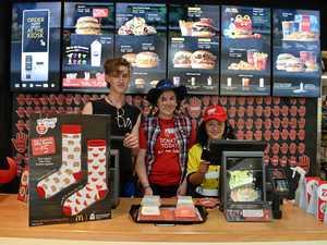 Big Mac burgers help McHappy Day fundraiser