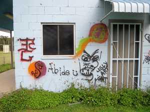 Local sporting legend's legacy vandalised