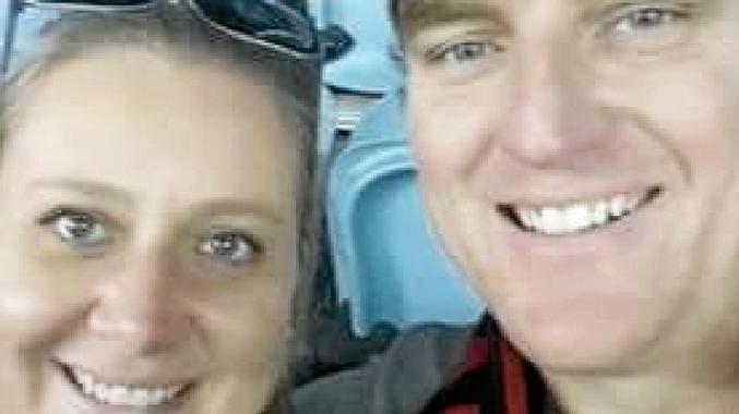 DRIVER CHARGED: Amanda Kilmister and her husband Paul.