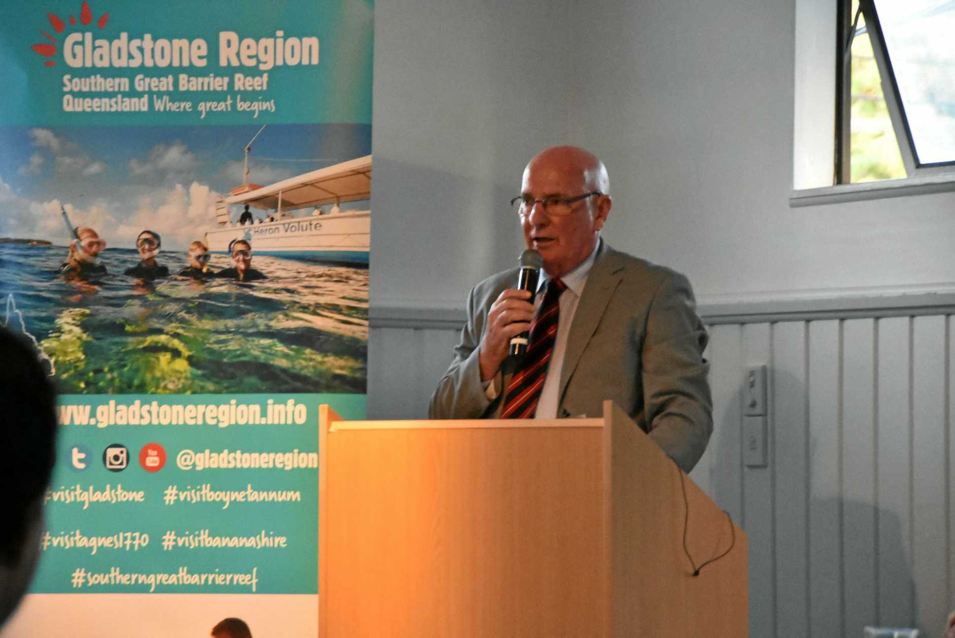 Colin Burke. GAPDL presents 'Meet the Candidates' at the Gladstone Yacht Club.