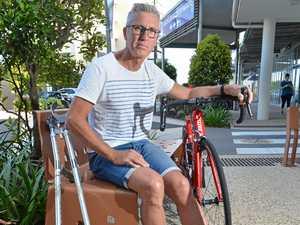 'Like being hunted by sharks': Cyclist's Coast nightmare