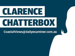 CLARENCE CHATTERBOX: No time for these foolish pranks