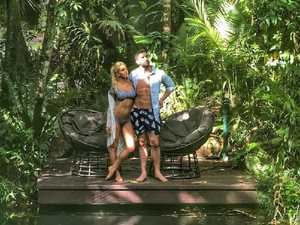 Tropical getaway for reality TV lovebirds