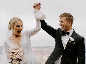 AFL star's wedding 'such a sad story'