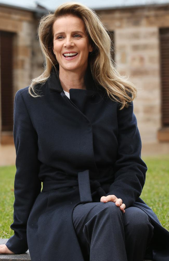 Rachel Griffiths will be starring in a new ABC drama. Picture: Richard Dobson