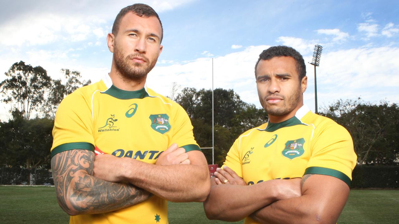 Quade Cooper with Will Genia will link up once again. Picture: Steve Pohlner