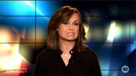 Lisa Wilkinson used a dedicated segment to attack the Prime Minister
