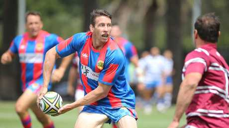 Kurt Gidley is still rumoured to be the fittest man in Newcastle. Picture: Tim Hunter.