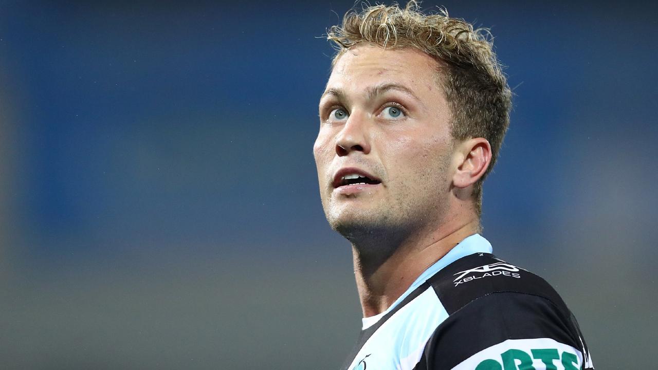 Matt Moylan could return to fullback for the Sharks.