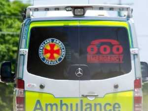 Motorcyclist seriously hurt in crash