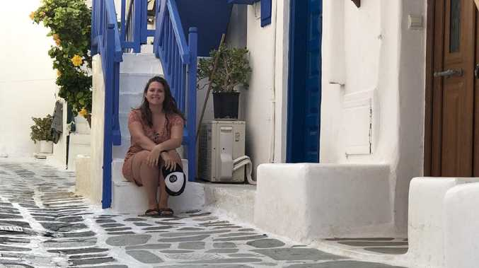 Mykonos was on the itinerary for Elena Stavrou, who saved $8000 in eight months.